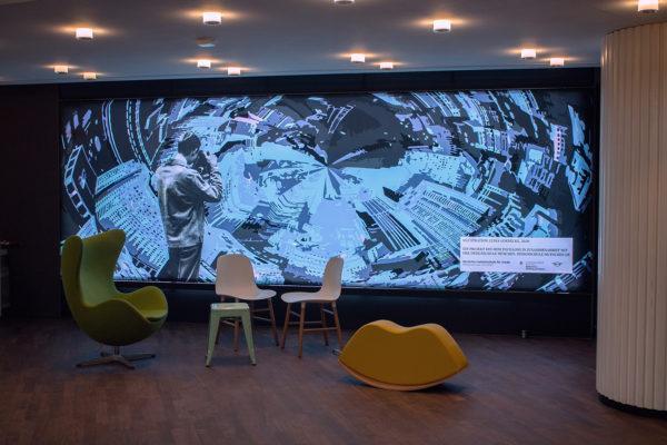 Urbanität und Shared Space – Realprojekt Illustration Mini Pavillon